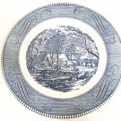 Currier & Ives plate the old grist mill