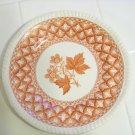 Spode geranium pattern saucer