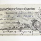 1947 Homer Ferguson signed senate pass