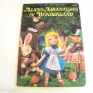 Alice's adventures in wonderland the world of fairy tales book