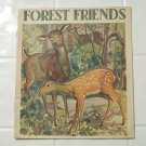 forest friends linenette 1941 sam'l gabriel no 463 children's book