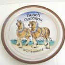 Busch Gardens Williamsburg brown Monterrey stoneware plate