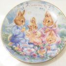 colorful moments 1992 Easter plate by Avon