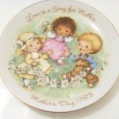 love is a song for mother mothers day 1983 plate by Avon