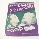 Going Hollywood big love scene Davies Cosby sheet music