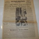 Stars and Stripes newspaper European edition Nov 19 1963 Military news Army Navy Air Force