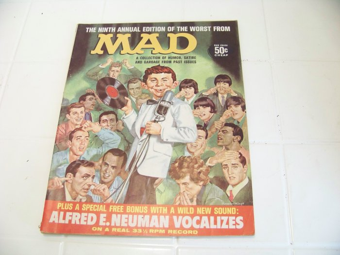 Mad magazine comic book ninth worst 9th vintage comic