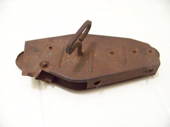 vintage metal tin wind up toy part