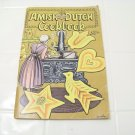 Amish Dutch cookbook vintage recipes