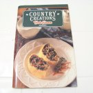Country creations Bob Evans farms  cook book recipes loaded with color pictures