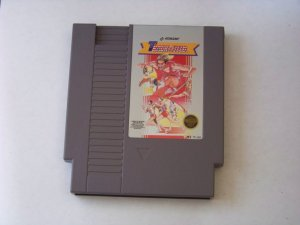 nintendo Track and field game cartridge for nes