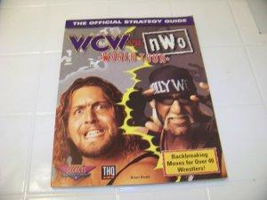 official strategy guide WCW vs NWO nintendo world tour nintendo game guide