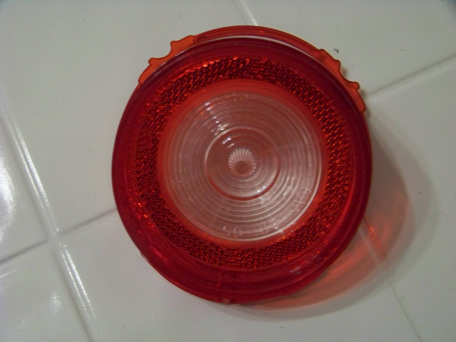 1965 Chevrolet Chevy biscayne back up lens  glo-brite t-6313 sae br 65 no trim