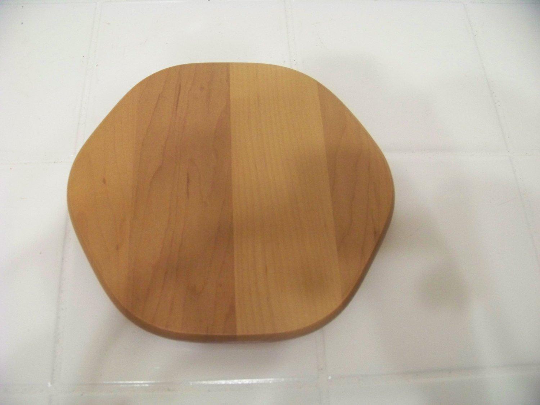 Longaberger small hexagon wood basket lid
