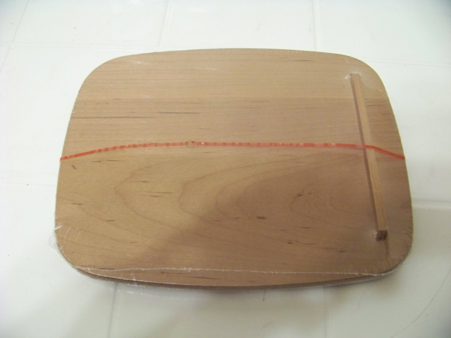 Longaberger wood basket lid note pal wmbrn 58557