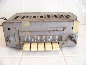 vintage Fomoco am car radio ford 94BF hot rod rat rod radio