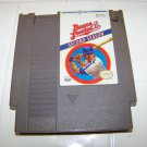 nintendo bases loaded II second season baseball game cartridge for nes