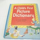 A child's first picture dictionary by Lillian Moore vintage childrens book nursery treasure book