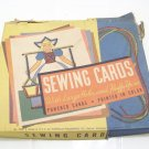 Vintage sewing cards This is a fun craft cards for children