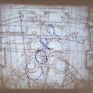vintage Soleri drawings Babel II photo slide crayon on butcher paper