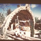 vintage Soleri Cosanti South Apse courtyard photo slide Ivan Pintar