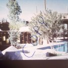 vintage Soleri Cosanti pool/canopy/catcast 1965/1966 photo slide Ivan Pintar