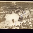 vintage slide 812 lost in Eastland disaster 1915 black and white slide