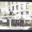 vintage slide it works N.Y.'S elevated 1867 black and white slide