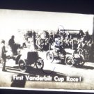 vintage slide first Vandebilt cup race black and white slide