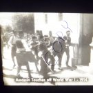 vintage slide assassin touches off World War I 1914 black and white slide