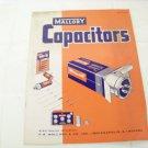 Mallory capacitors catalog 4-140 vintage electronics catalog
