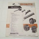1958 OHMITE stock catalog 28 rheostats resistors relays tap switches vintage electronics