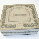 Vintage Whitman's Loveliness candy box vintage advertising tin
