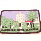 Bluebeard's castle St. Thomas  travel patch souvenir