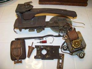 Vintage Mantola automatic record changer parts r600-rc  rc161 vintage electronics