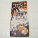 vintage University tours travel brochure steamship 1934 advertising Utmost ocean service