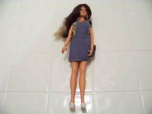 vintage Tiffany Taylor doll 1975 Ideal changing hair H248 blond brunette toy