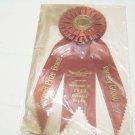 vintage AKC Award ribbon dog Second  Prize Brace Variety 1980 Richmond Virginia