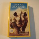 vintage National Geographic Video beta betamax tape the Rhino war