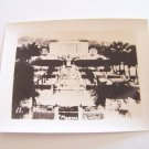 Vintage Mormon temple Honolulu Hawaii photograph black white photo