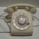 vintage white rotary phone telephone Stromberg Carlson