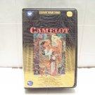 vintage movie Camelot Betamax tape Beta 2 tape set Richard Harris