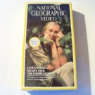 vintage National Geographic Video beta betamax tape Goodall chimpanzees sealed