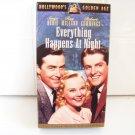 vintage movie Everything Happens at Night Betamax tape Beta Sonja Henie skating