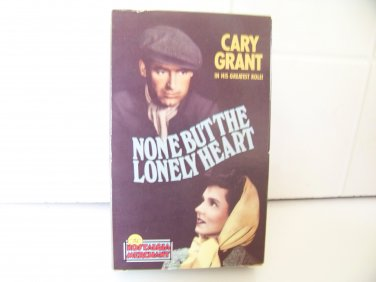 vintage movie None But The Lonely Heart Betamax tape Beta Cary Grant