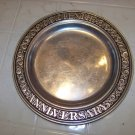 Wilton armetale tenth anniversary plate pewter