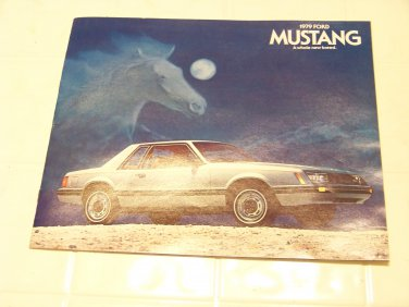 1979 Ford Mustang brochure vintage advertising automotive A Whole new breed 79