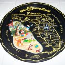 Vintage Walt Disney World Florida metal tray Mickey Mouse Winnie Pooh Donald
