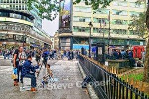 Artist London - 16 x 24