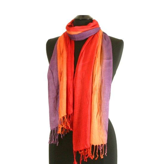 3 Coloured scarf